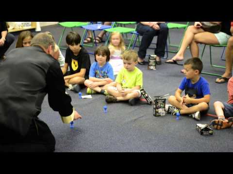 Watch a YouTube clip of a Magic Theme Party class at Fantastic Magic Camp