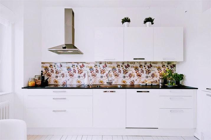 Köksglas - Pris 490 kr/kvm - Glaspanel som stänkskydd i kök