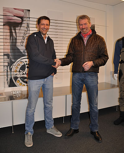Guideline VD, Stein Thorvaldsen welcomes Klaus Frimor to the Guideline Team.