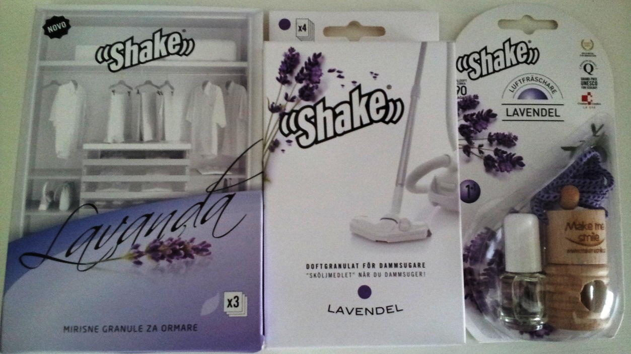 lavendel paket - doftolja, garderobsdoft, dammsugardoft