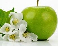 Grönt äpple - en av femton välgörande dofter hos SHAKE™