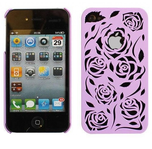 iphone-4-4s-plast-skal-ros-lila1