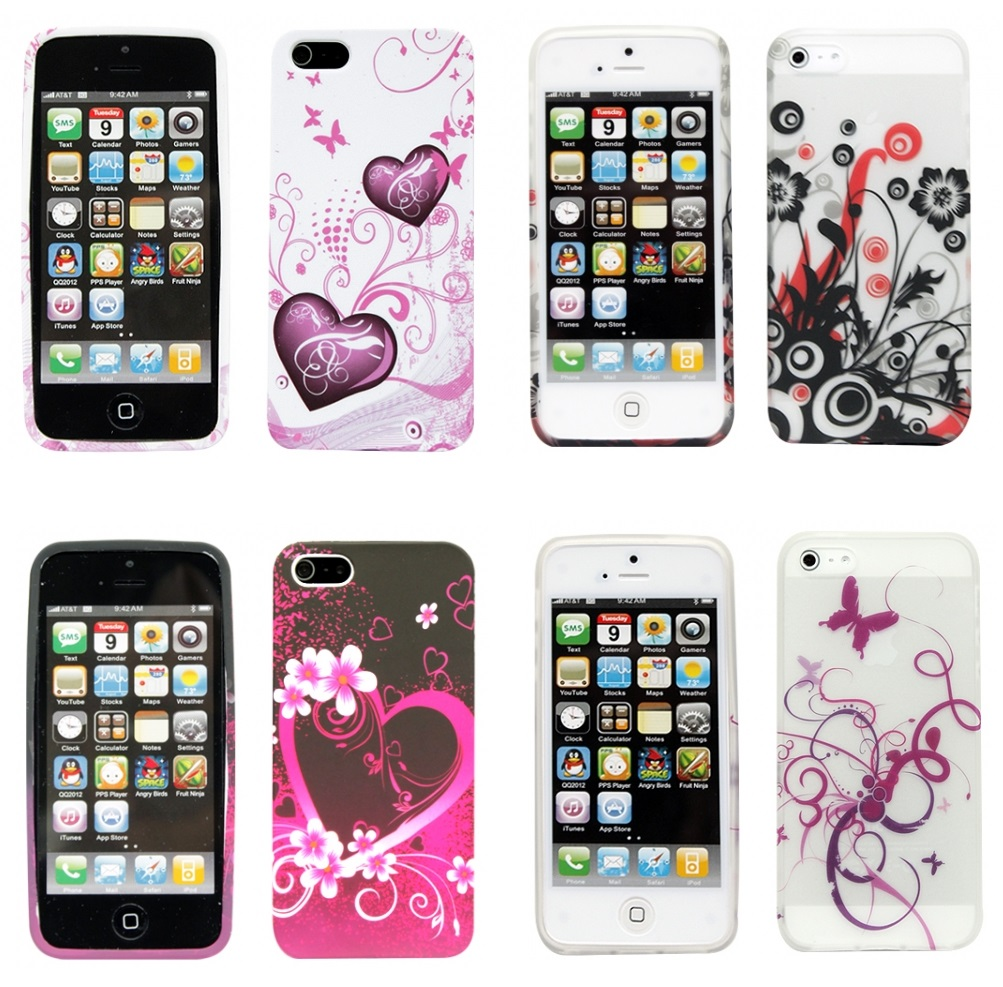 iphone-5-motiv-gel-skal-lila-dubbla-hjartan1