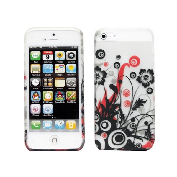 iphone-5-motiv-gel-skal-svartblomma