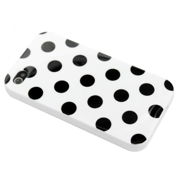 iphone-4-4s-polka-skal-vit-svarta-prickar1
