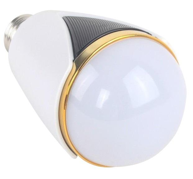 SMART LED-LAMPA MED HÖGTALARE