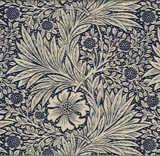 Marigold Mörkblå L