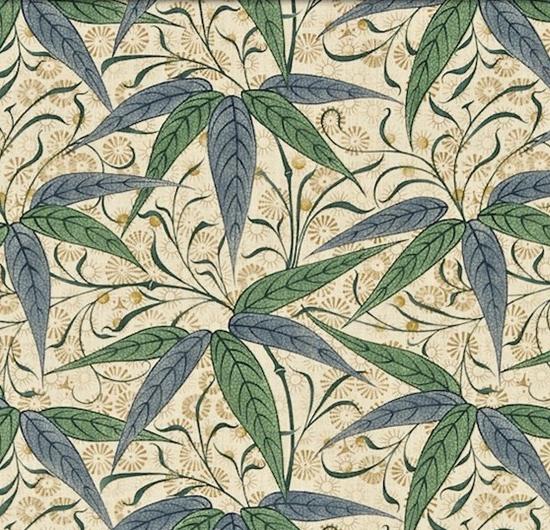 Bamboo Grön L