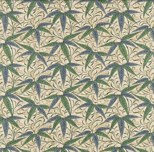Bamboo Grön S