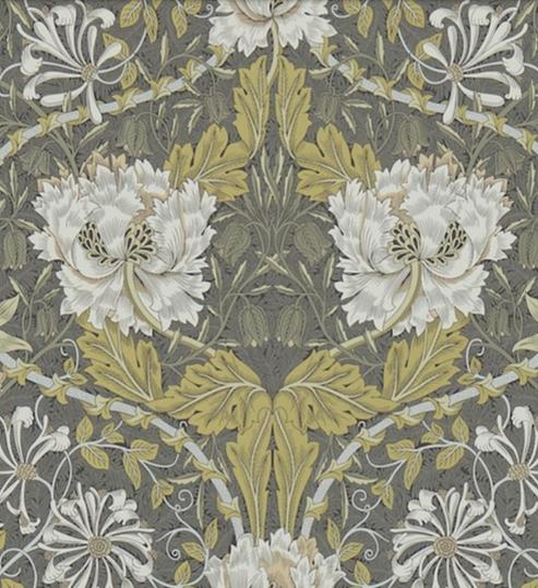 Honeysuckle & Tulip Svartguld L