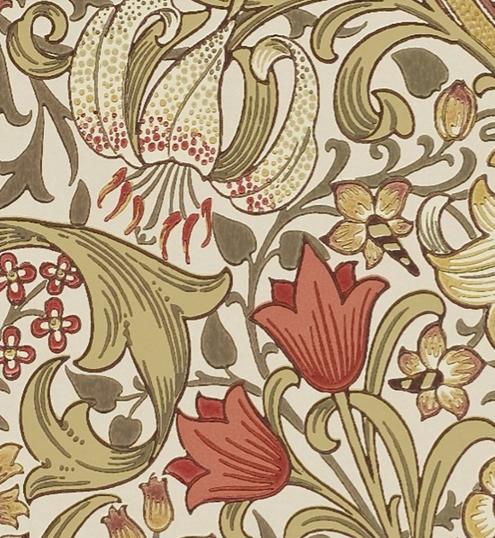 Golden Lily RödGrön L