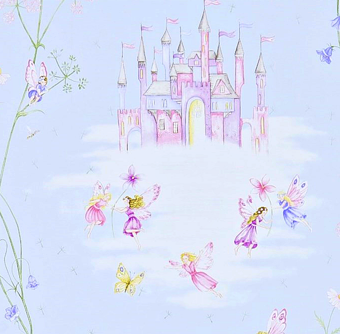 Fairy Castle Ljusblå L