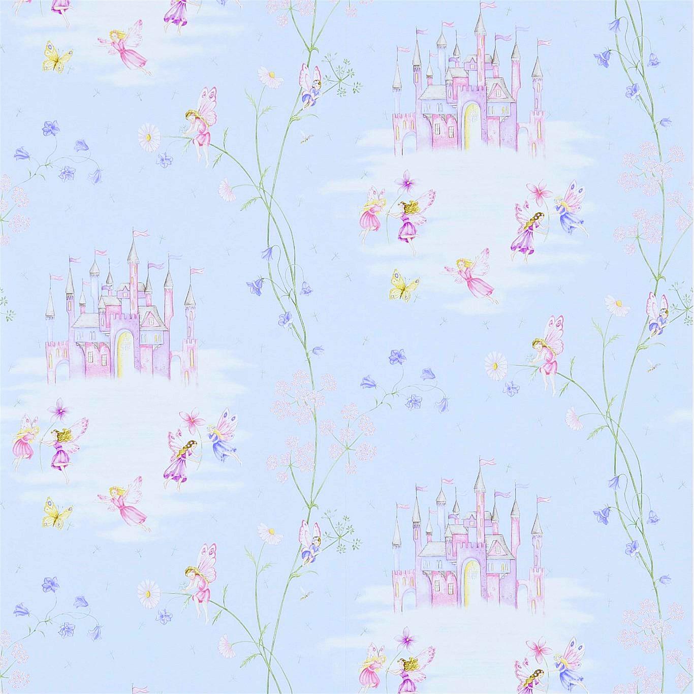 Fairy Castle Ljusblå
