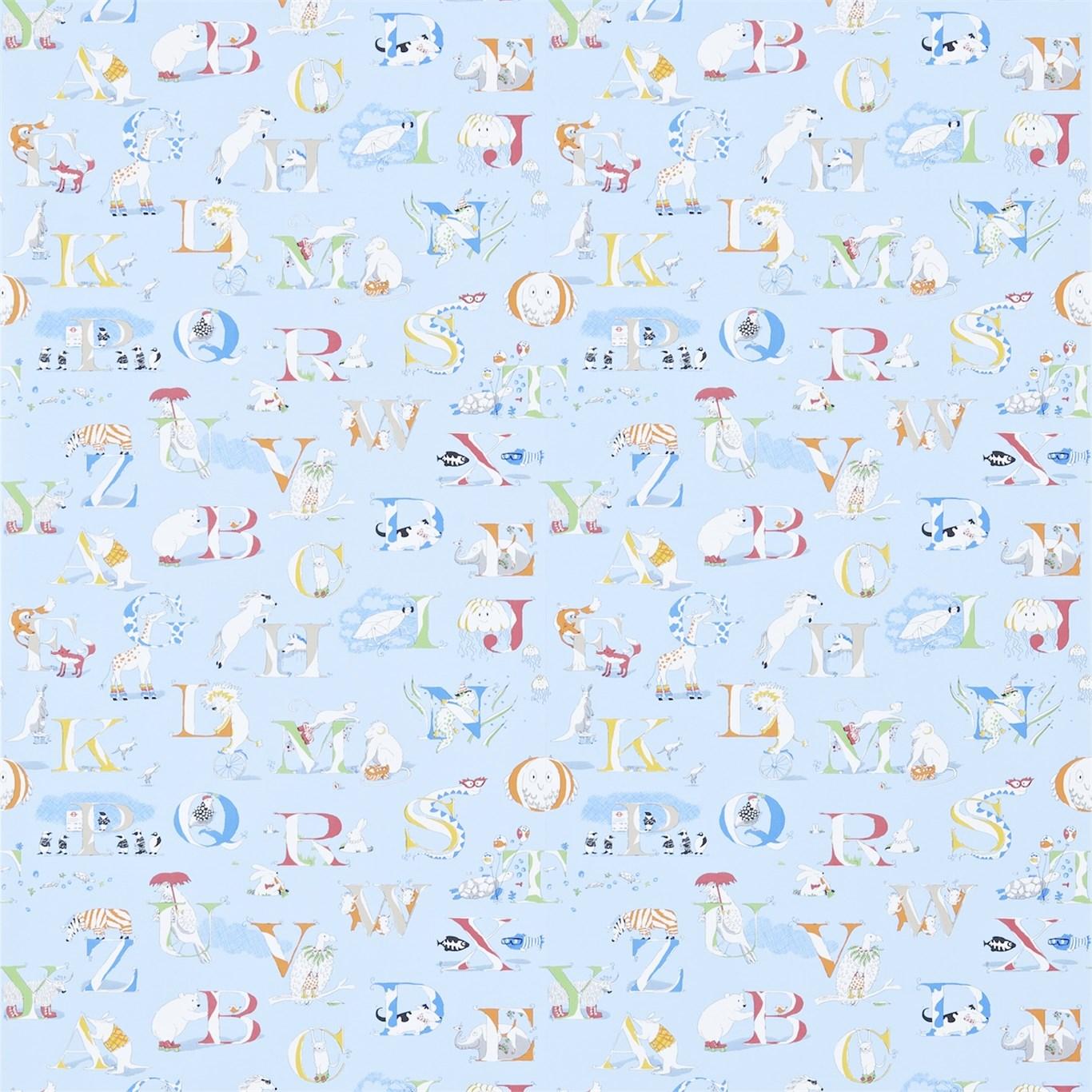 AlphabetZoo Blå Multi