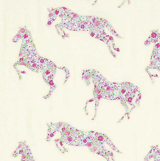 Pretty Ponies Broderad Vit L