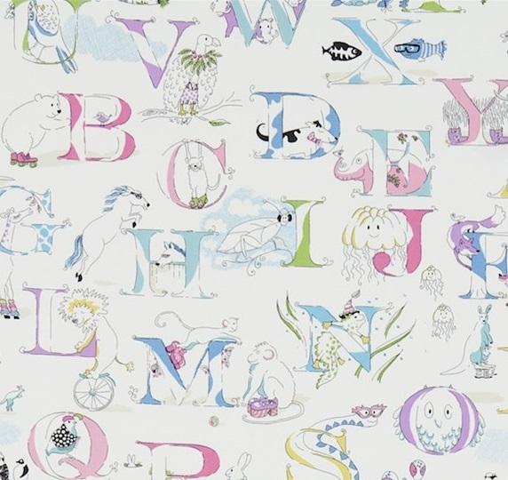 Alphabet zoo Pastell Multi L