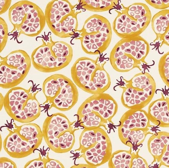 EB Tyg Pomegranate Gul L
