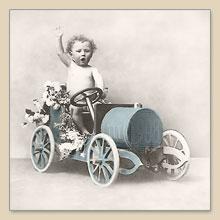 2087 Boy in Car