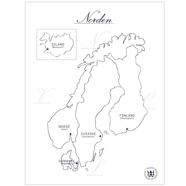 Poster Norden