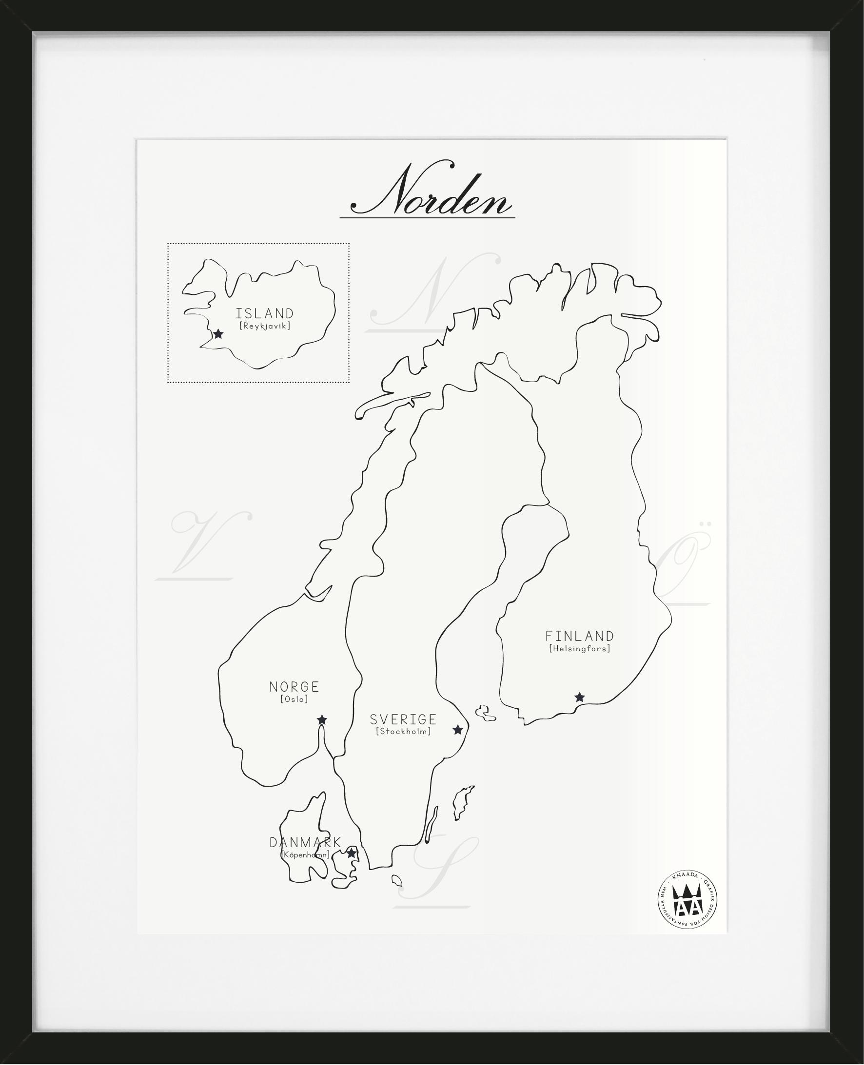 Karta Norden