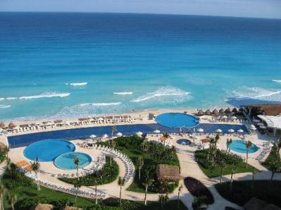Jaanas utsikt i Cancun