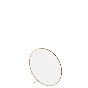 Spegel liten mässing