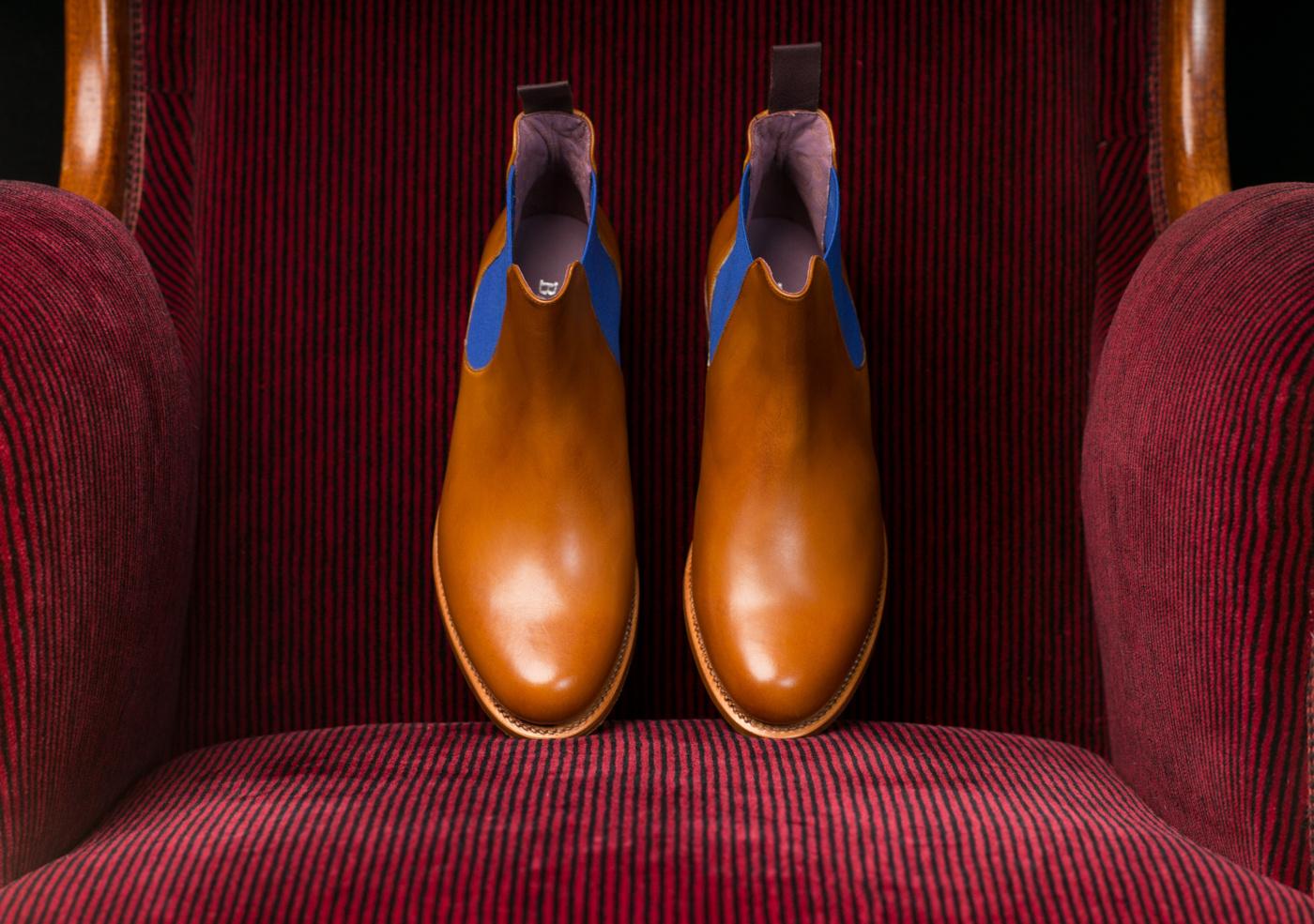 Barker Violet Chelsea Boot