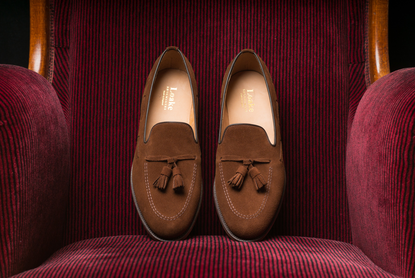 Loake Lincoln Polo Suede