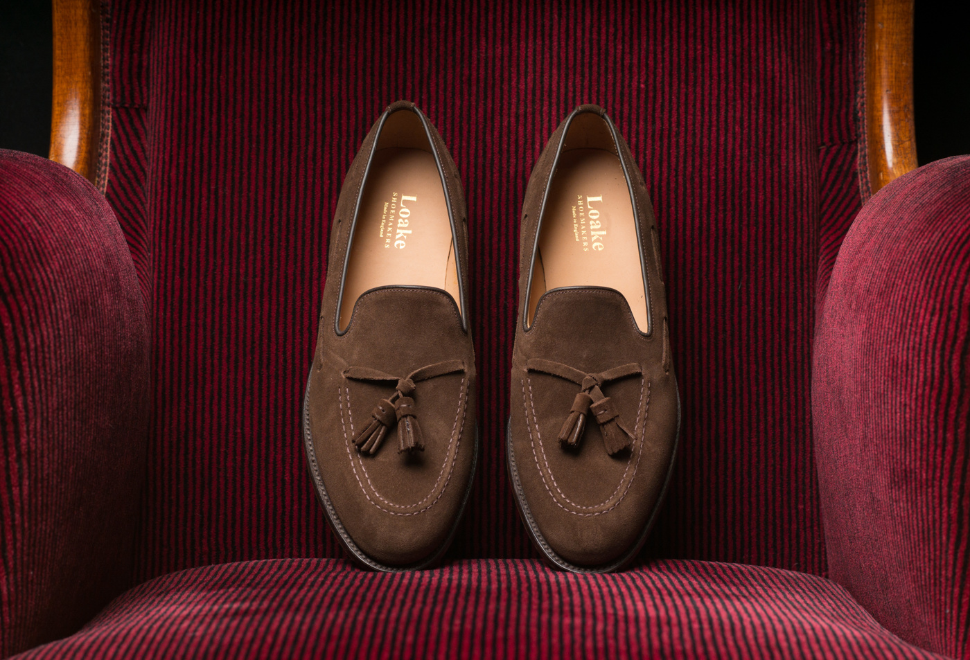 Loake Lincoln Brown Suede