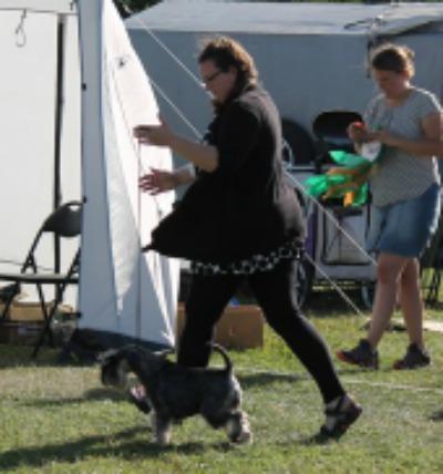 Jag och Nellie i action ;)