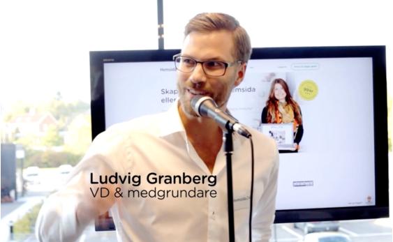 Ludvig Granberg, Hemsida24, vd, ledare, grundare, ägare