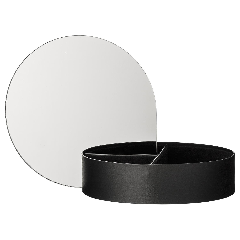 Gutta jewelry box black 134078-50_open_2