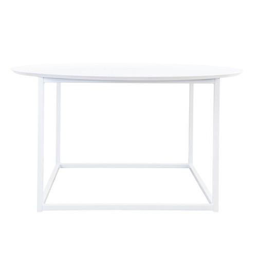 Domo round square table Vit