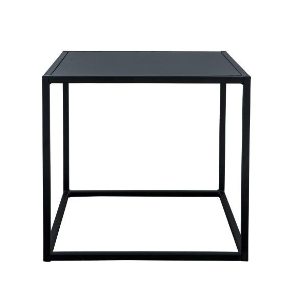 Domo square table Svart