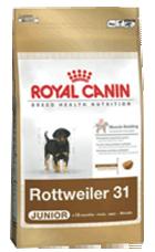Royal Canin Breed Rottweiler 31 Junior - Royal Canin Breed Rottweiler 31 Junior - 3 kg