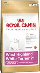 Royal Canin Breed West Highland White Terrier 21 - Royal Canin Breed West Highland White Terrier 21 - 1,5 kg