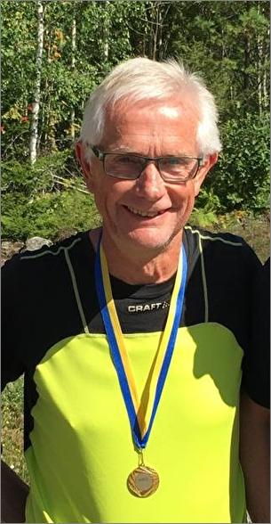 Åke Gustafsson, OK Älgen, Mästare i klassen H70 sprint.