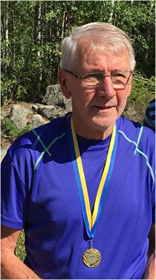 Leif Nordlund, Almunge PRO, Mästare i klassen H70 medel.