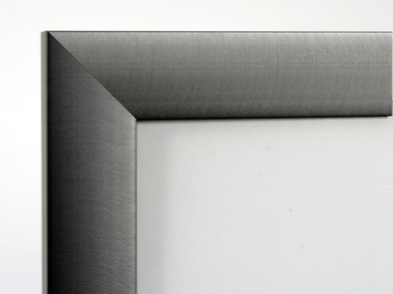 Aluram satin grey 33mm