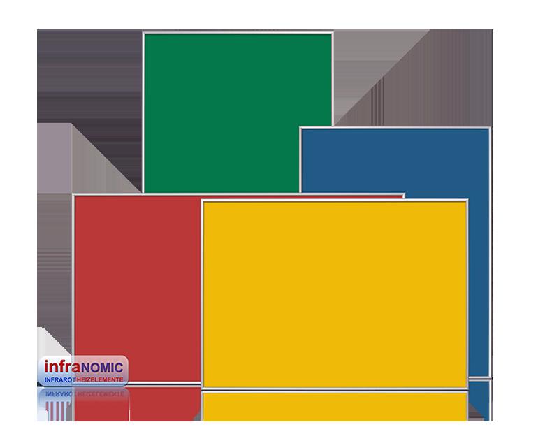 Infrapanel RAL färg