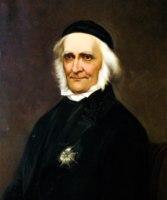Porträtt i olja av Hulda Schenson 1893 efter fotografi från 1860-talelet av Emma Schenson