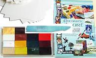 Encaustic Art - Färgdrömmarens Artset L