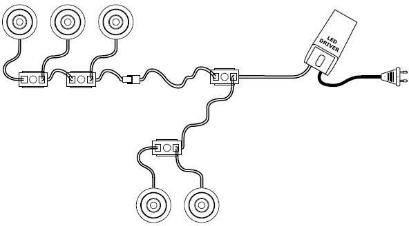 inkoppling av led  dimbara driver  transformatorer  l u00e4r