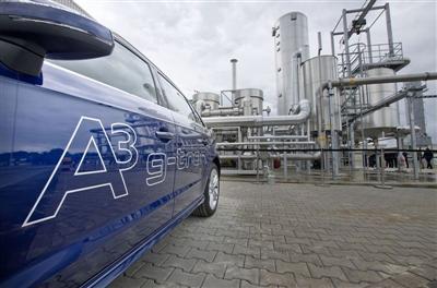 Audis e-gasanläggning i Werite