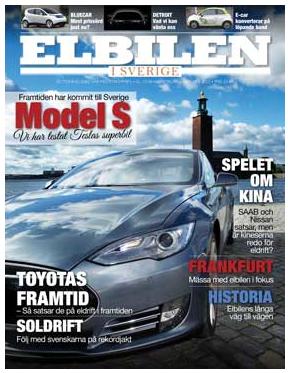 Den ny svenska tidningen ELBILEN