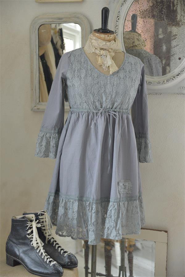jdl klänning gråblå