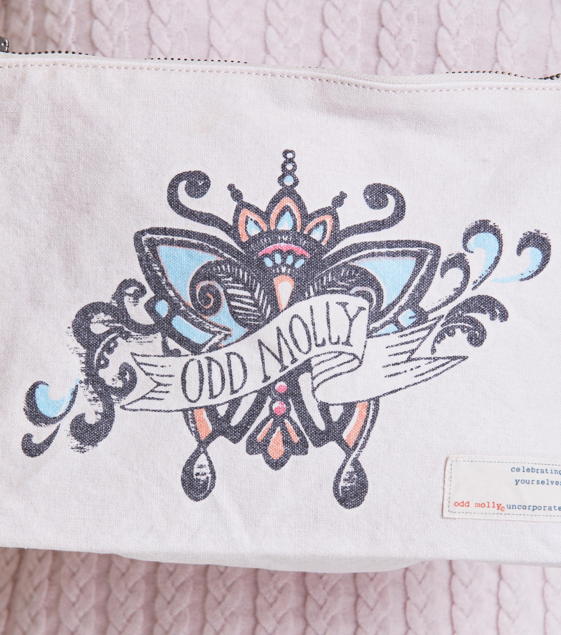 .Odd Molly Big beauty bag (Shell)