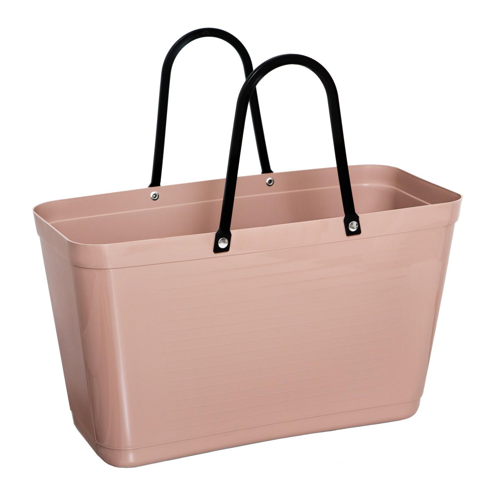 hinza 058-hinza-bag-large-nougat-green-plastic