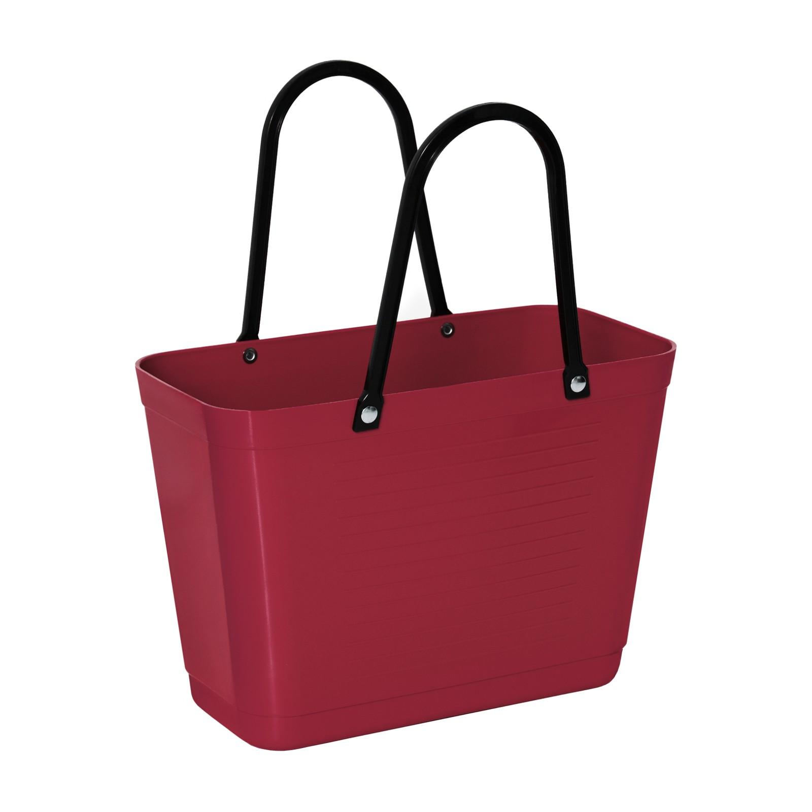 hinza 257-hinza-bag-small-maroon-green-plastic