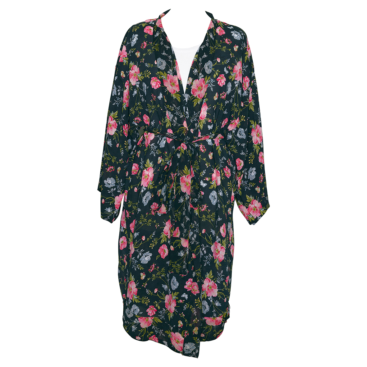 GreenGate Kimono Meadow Black